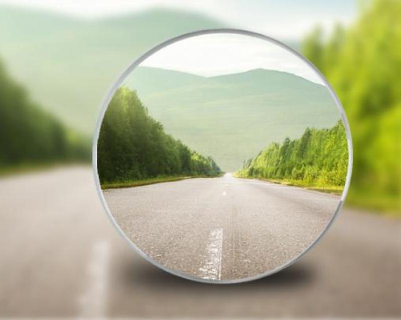Set 2 Gương cầu xoay 360 độ cao cấp - xóa điểm mù ô tô - NHH1