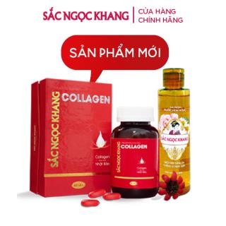 Combo COLLAGEN Sắc Ngọc Khang thế hệ mới (100% Collagen Nhật) + Nước Hoa Hồng Sắc Ngọc Khang 145ml thumbnail
