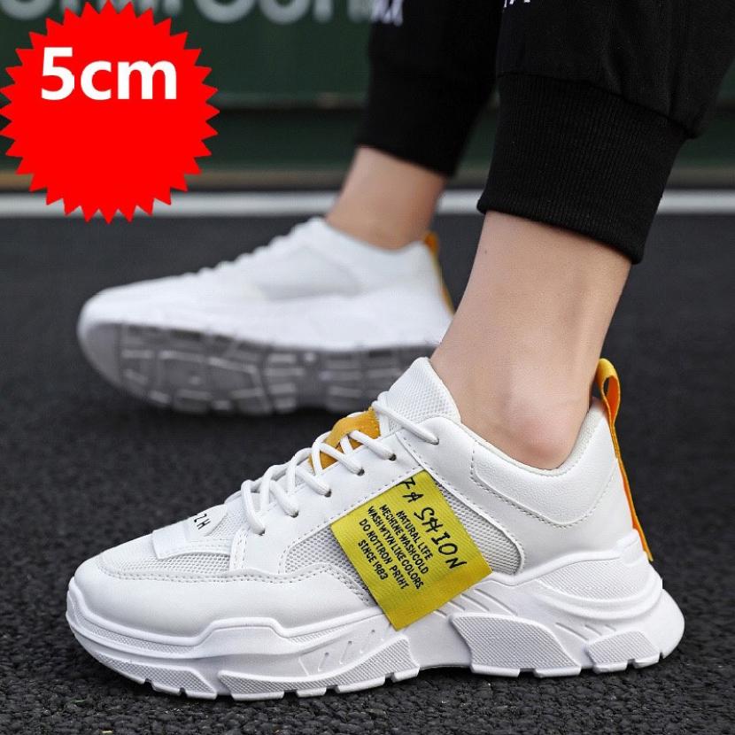 Giày thể thao nam sneaker tăng 5cm chiều cao Hót Trend 2020 - GN45 thích hợp mang đi chơi, đi học, đi làm giá rẻ
