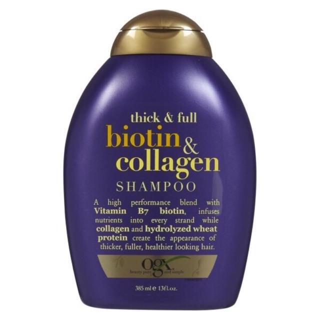 Dầu Gội Chống Rụng Tóc Biotin Collagen 385ml nhập khẩu