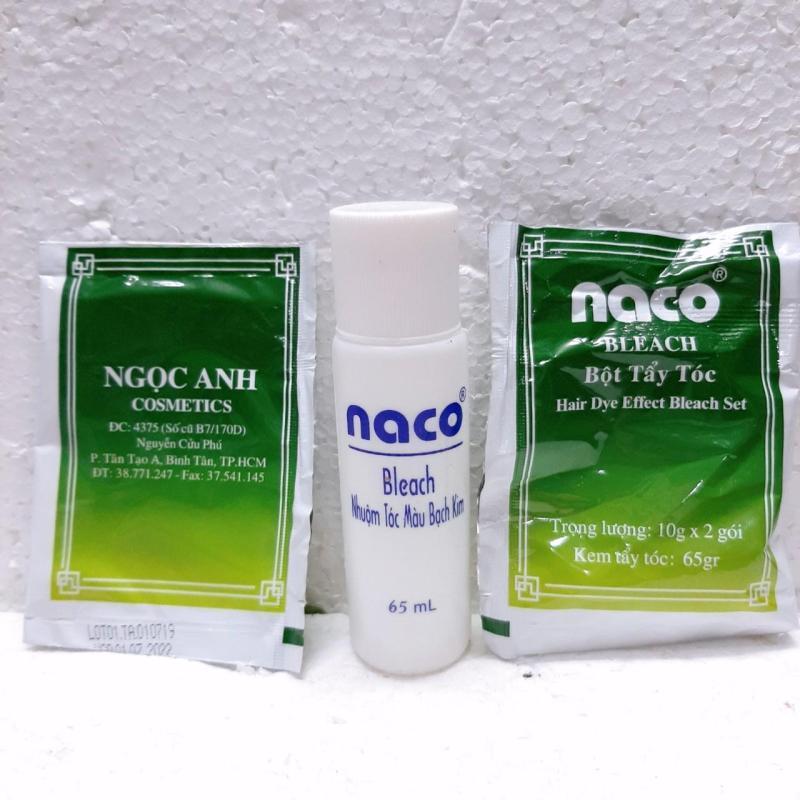 Thuốc tẩy tóc Naco 1 hộp cao cấp