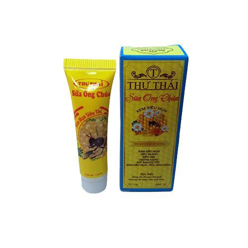 Tuýp Kem Siêu Chấm Mụn Thư Thái Sữa Ong Chúa (15g) nhập khẩu