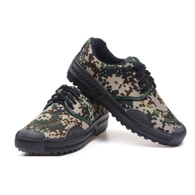 Giày PHƯỢT rằn ri Cổ thấp - Giày LÍNH đi phượt dã ngoại du lịch đế cao su Chống trơn trượt giá rẻ