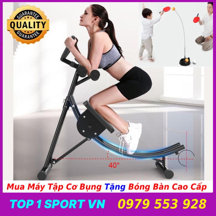 Ghế máy tập cơ bụng lưng tay ngực eo hông đa năng 4.0 Elip AB Gym - Khung thép hợp kim chịu lực cao - Bảo hành 12 tháng