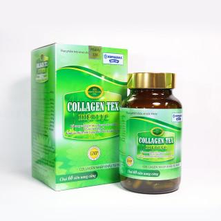 Viên Collagen Diệp lục Tex giúp trắng da thải độc làm chậm lão hoá da thumbnail