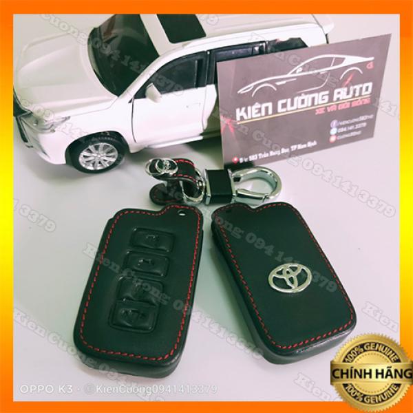Bao da Chìa Khóa Xe Toyota Camry (2012-2013) Altis (2019-2020) - Mẫu Chìa Thông Minh