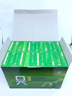 Bộ 20 hộp Bao cao su OK bạc hà mát lạnh cho cảm giác thăng hoa 60c thumbnail