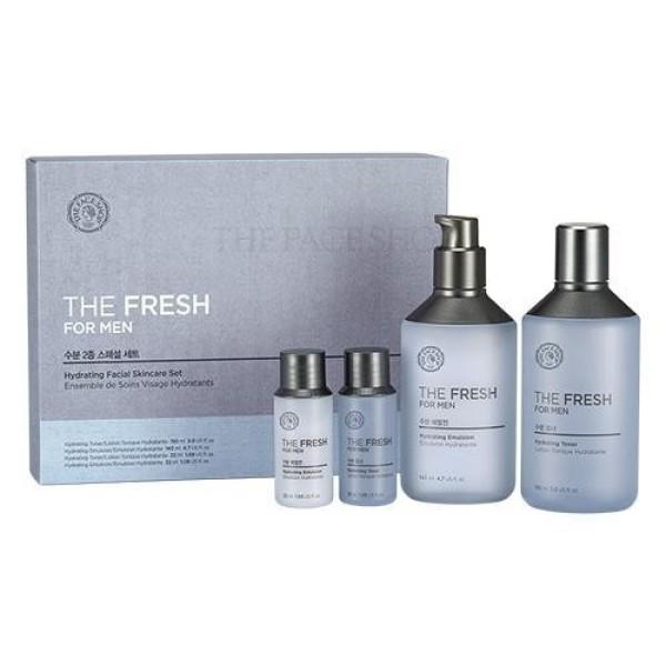 Bộ dưỡng cho nam the Fresh for Men Hydrating Facial Skin Care Set cao cấp