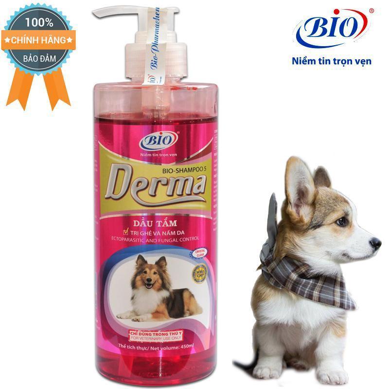 Sữa tắm tiêu diệt ghẻ và nấm da demodex triệu chứng hôi lông với rụng lông-79303