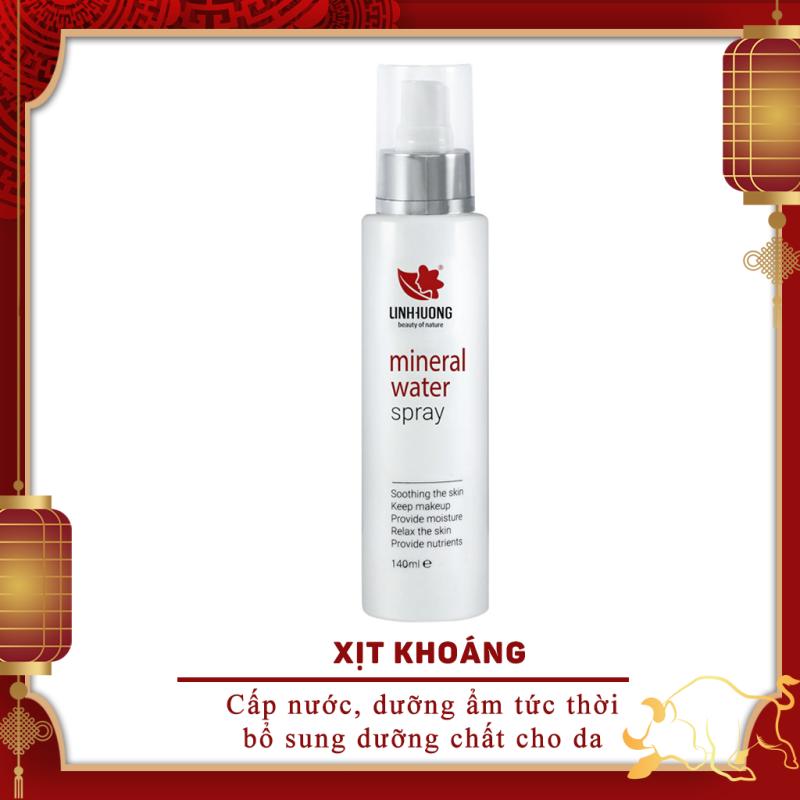 Xịt Khoáng Dưỡng Ẩm Phục Hồi Da Linh Hương - Mineral Water Spray