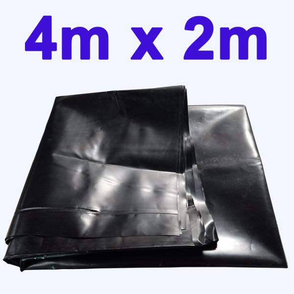 [HCM]Bạt lót ao hồ 4m x 2m dày 0.5mm bảo hành 5 năm