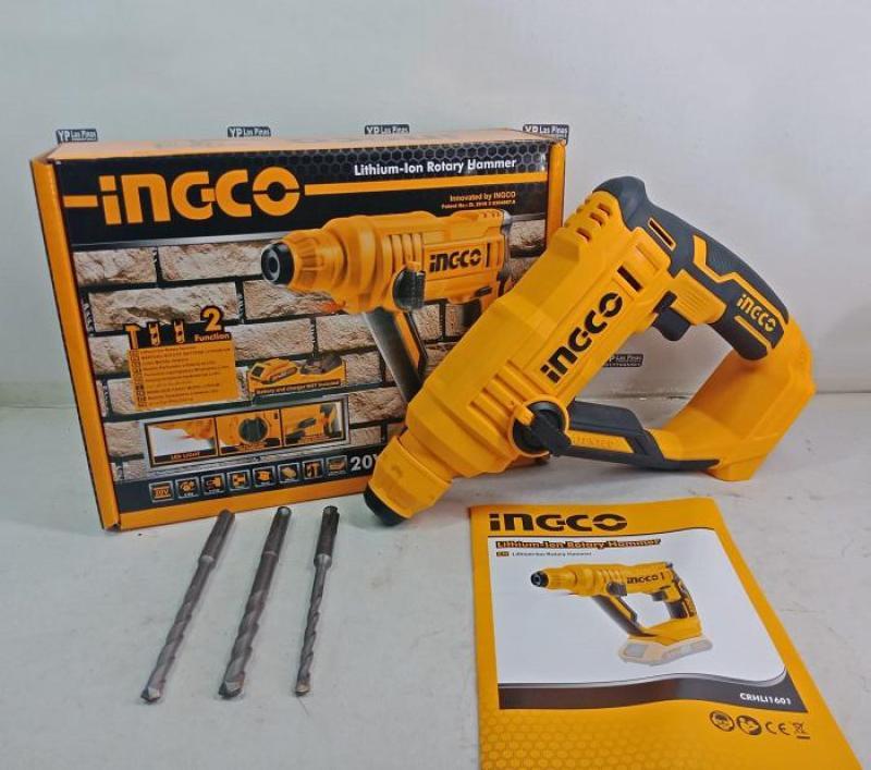 20V Máy khoan bê tông dùng pin INGCO CRHLI1601