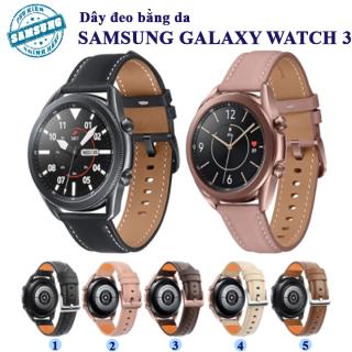 [Galaxy Watch 3] Dây da cho đồng hồ Samsung Galaxy Watch 3 - 20mm-22mm thumbnail