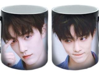 Cốc sứ cao cấp in hình Xiao Zhan Tiêu Chiến đẹp mắt dễ thương làm quà tặng hấp dẫn cho fan thumbnail