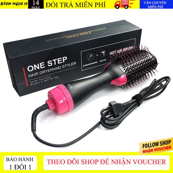 [Làm tóc tại nhà] Máy sấy tóc đa năng 3 trong 1 One Step, lược điện chải tóc làm cong, máy tạo kiểu tóc làm phồng đa năng Hair Dryerand Styler [Bảo hành 6 tháng bởi BN 18 store]