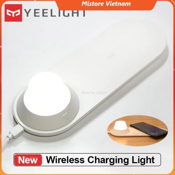 Đèn ngủ kiêm đế sạc không dây thông minh Yeelight 10W