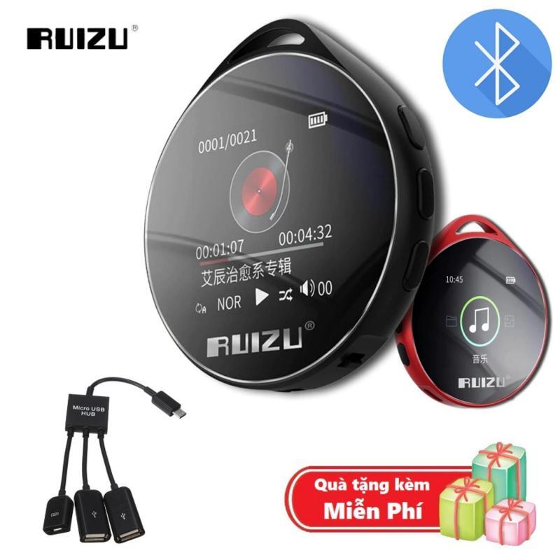 ( Quà tặng Cáp OTG 3 đầu ) Máy nghe nhạc MP3 Bluetooth cao cấp Ruizu M10 - Hifi Music Player Ruizu M10 - Màn hình cảm ứng 1.8inch - Máy nghe nhạc Lossless Ruizu M10