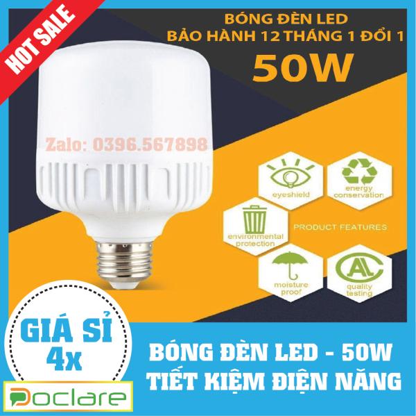 Bộ 5 bóng đèn Led 50W cao cấp tiết kiệm điện