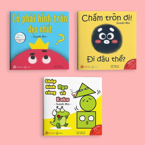 Full bộ Điều Kỳ Diệu Của Hình Khối - Sách Ehon cho trẻ mầm non