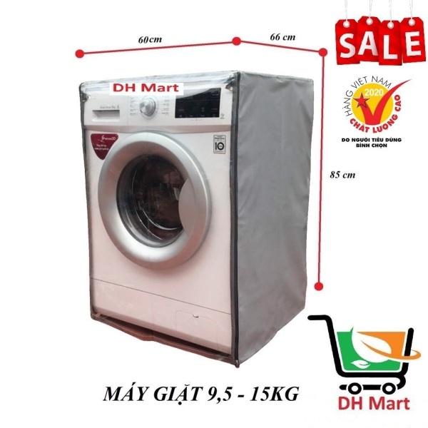 Áo trùm máy giặt siêu bền cửa ngang, Vỏ bọc máy giặt cửa ngang (da cao cấp 100% bảo hành 6 tháng)