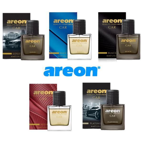 Nước hoa ô tô  Areon , dầu thơm xe hơi cao cấp dung tích 50ml, khử mùi thơm xe, đạt chuẩn chất lượng Châu Âu ( dạng xịt )