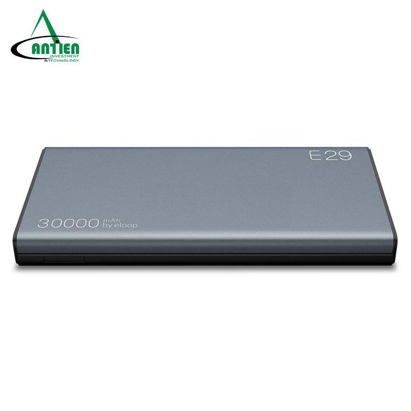 Giá Pin dự phòng Eloop E29 dung lượng 30.000mAh, USB-C, hỗ trợ sạc nhanh QC3.0 - An Tiến