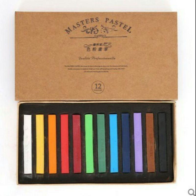 Phấn tiên 12 màu Master Pastel  màu nhuộm tóc tạm thời nhập khẩu
