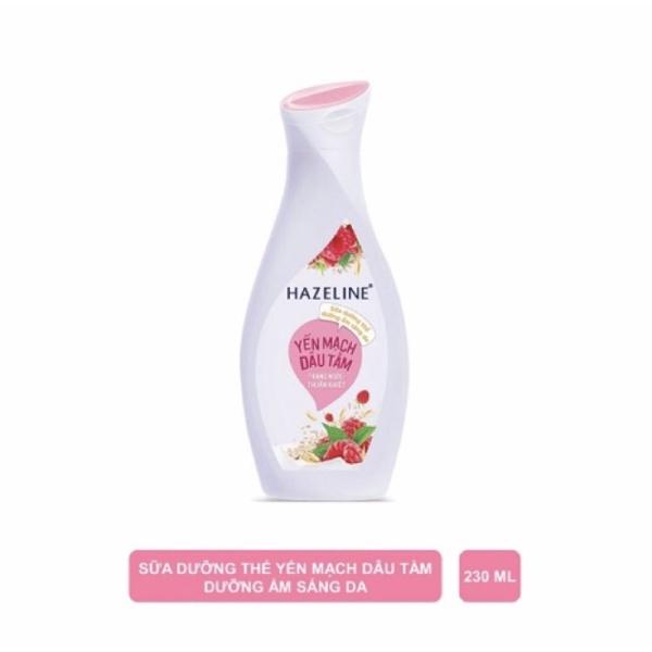 Sữa dương thể Hazaline hồng yến mạch dâu tằm 230ml