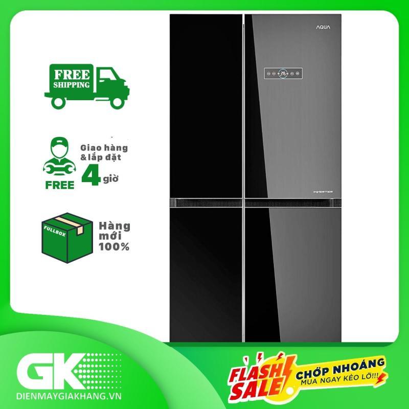 Tủ lạnh Aqua Inverter 565 lít AQR-IG585AS GB