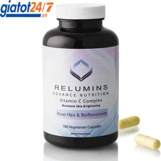 Viên Uống Sáng Da Relumins Advance Nutrition Vitamin C Complex 180 Viên thumbnail