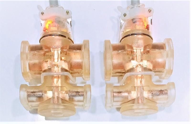 Ổ cắm đúc có đèn, lỏi đồng nhựa dẻo, tải 250V-20A-4000W; SL: 2 cái, chống cháy, siêu chặt, siêu bền, đảm bảo an toàn