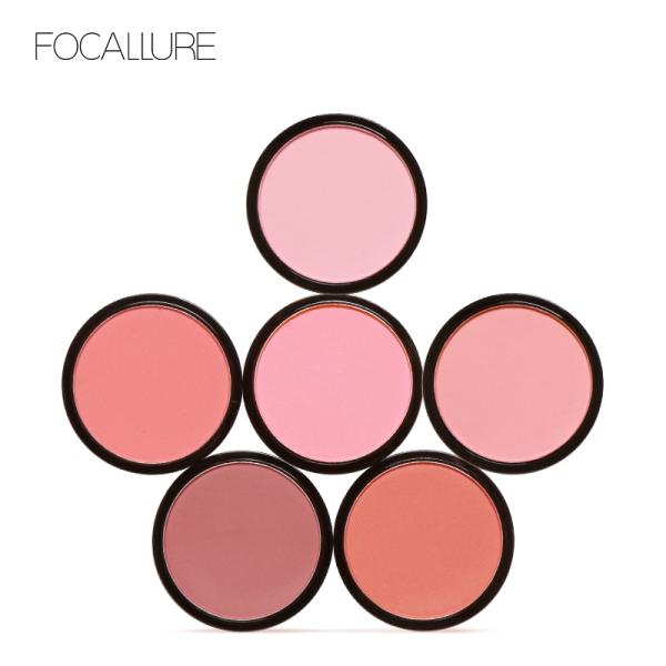 Khay phấn má hồng FOCALLURE gồm 6 màu tùy chọn 4g giá rẻ