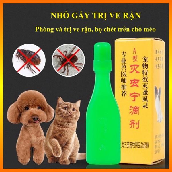 Thuốc Trị Ve Rận Bọ Chét Nhỏ Gáy Chó Mèo 💕Hiệu Quả💕