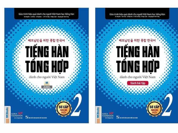 Bộ sách Tiếng Hàn Tổng Hợp Dành Cho Người Việt Nam 2 (Sách học + Bài tập) (Bản đặc biệt) - MCBooks