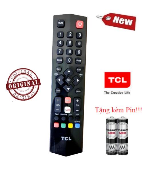 Bảng giá Điều khiển tivi TCL- Hàng mới chính hãng Tặng kèm Pin các dòng TV TCL CRT LCD LED Smart TV
