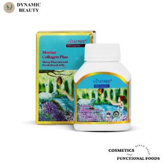 [Hàng chuẩn Úc] Viên uống collagen kết hợp nhau thai cừu và sữa ong chúa Vitatree marine collagen plus 100 viên của Úc thumbnail