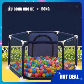 Lều bóng cho bé, thiết kế siêu an toàn chắc chắn giành cho bé vui chơi mỗi ngày thumbnail