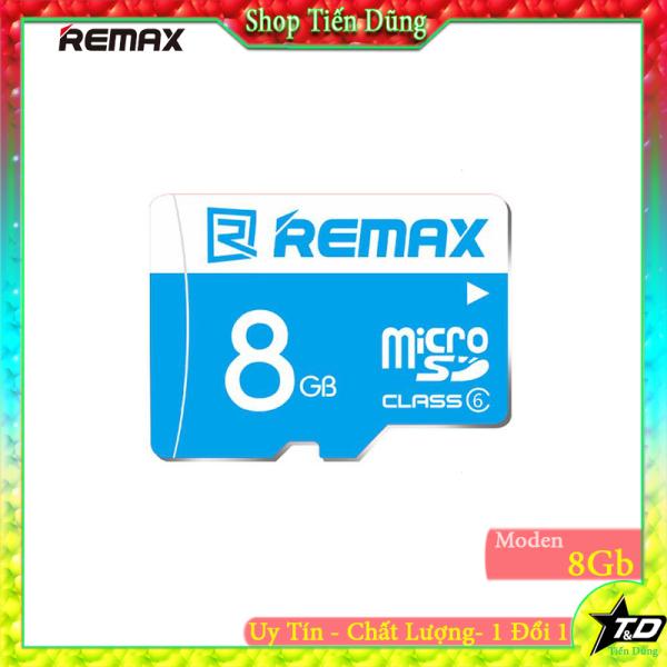 Thẻ nhớ Micro 8gb remax Class 6 nhở gọn hợp cho dùng các thiết bị đài, máy ghi âm