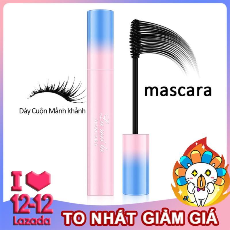【Urbeauty】Mascara dày kéo dài không thấm nước lâu trôi uốn cong chống mồ hôi không thấm nước trang điểm