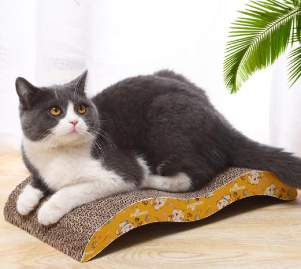 Bàn cào móng gợn sóng cho mèo