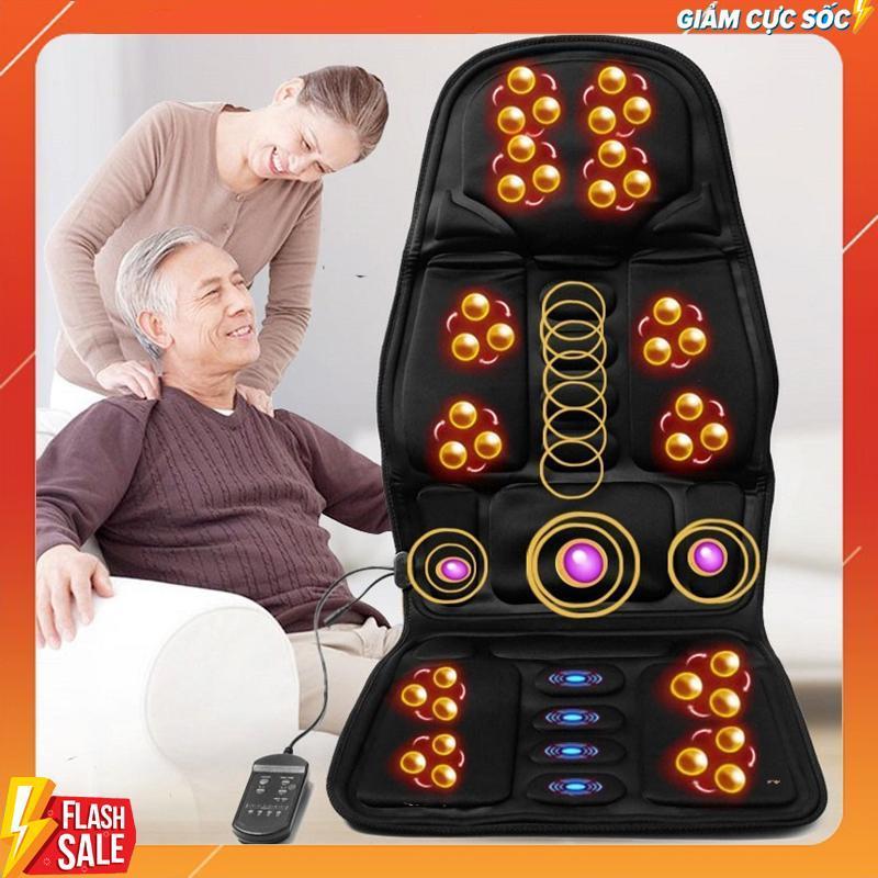 Nệm Massage toàn thân - Nệm Ghế massage - Nệm Ghế matxa toàn thân - Nệm Ghế matxa ( Dùng Được Trên Oto)