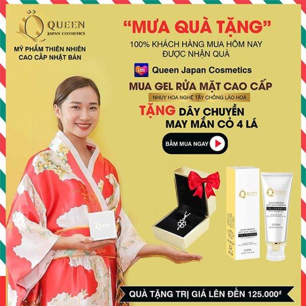 Gel Rửa Mặt Dịu Nhẹ Từ Thiên Nhiên - Queen Japan Cosmetics - 100ML