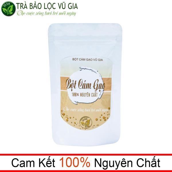Bột Cám Gạo Nguyên Chất Vũ Gia (100g/túi) - Đắp mặt nạ dưỡng da tắm trắng, cải thiện sắc tố da, tẩy tế bào chết - Đã được kiểm nghiệm y tế