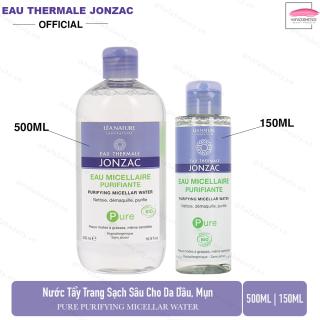Nước tẩy trang làm sạch sâu cho da dầu, mụn Eau Thermale Jonzac Eau Micellaire Purfiante thumbnail