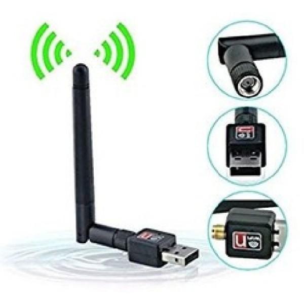 Bảng giá USB wifi có anten bắt sóng tốt thu wifi cho máy tính bàn, laptop Phong Vũ