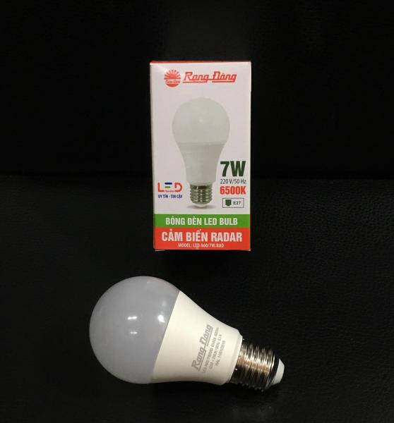 Bóng đèn led tròn cảm biến Rạng Đông 7w hoặc 9w