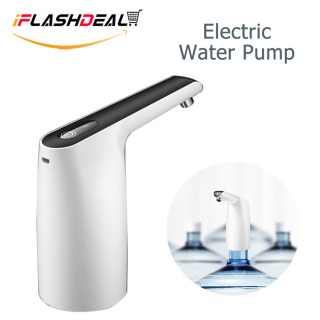 iFlashDeal Electric Water Dispenser Pump Automatic Electric Drinking Water Bottle Pump Mini Switch Wireless Rechargeable With Micro USB Cable thumbnail