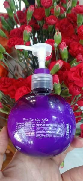 Wax tạo kiểu cho tóc uốn xoăn Kella Modeling Hair Wax 250ml