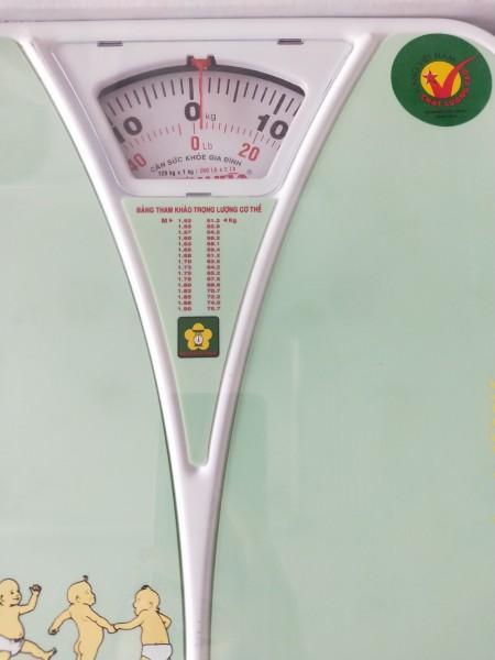 Cân Sức Khỏe Nhơn Hòa 120kg( Hàng chính hãng) MÀU NGẪU NHIÊN