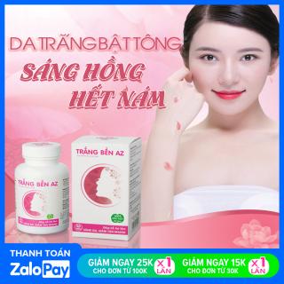 Viên Uống Trắng Bền AZ Giúp Da Sáng Mịn - Giảm Tàn Nhang - Cân Bằng Nội Tiết Tố Nữ (Hộp 30 viên) Khánh Linh Pharma thumbnail